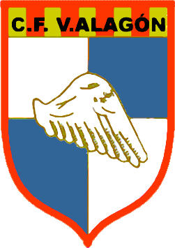 Escudo de C.F. VILLA DE ALAGÓN (ARAGÓN)