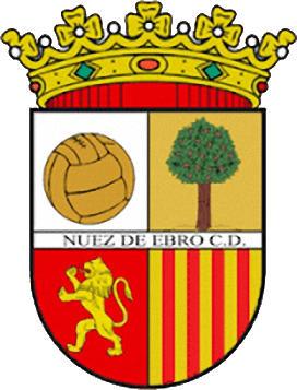Escudo de NUEZ DE EBRO C.D. (ARAGÃO)