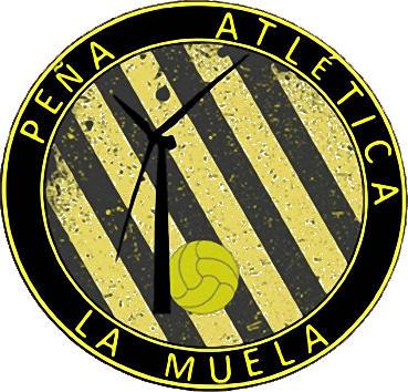 Escudo de PEÑA ATLÉTICA LA MUELA (ARAGÓN)