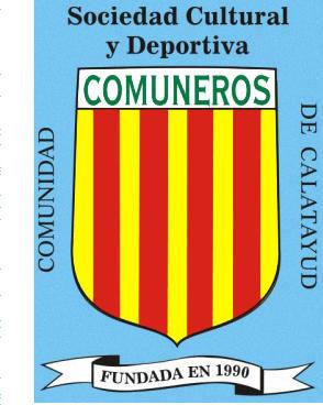 Escudo de S.C.D. COMUNIDAD DE CALATAYUD COMUNEROS (ARAGÓN)