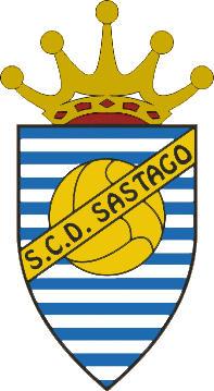 Escudo de S.C.D. SASTAGO (ARAGÓN)