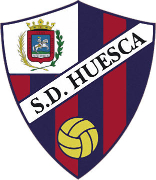 Escudo de S.D. HUESCA (ARAGÓN)