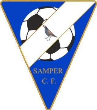 Escudo de SAMPER C.F. (ARAGÃO)