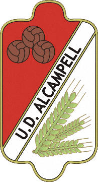 Escudo de U.D. ALCAMPELL (ARAGÓN)
