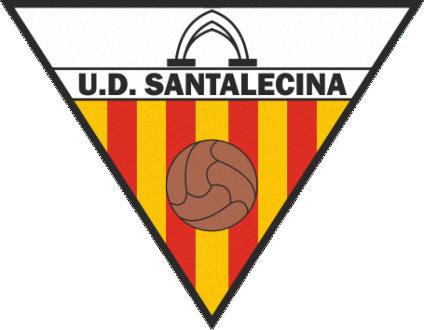 Escudo de U.D. SANTALECINA (ARAGÃO)