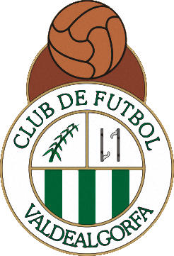 Escudo de VALDEALGORFA C.F. (ARAGÓN)