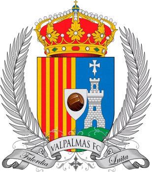 Escudo de VALPALMAS F.C. (ARAGÓN)