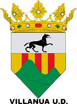 Escudo de VILLANUA U.D. (ARAGÓN)