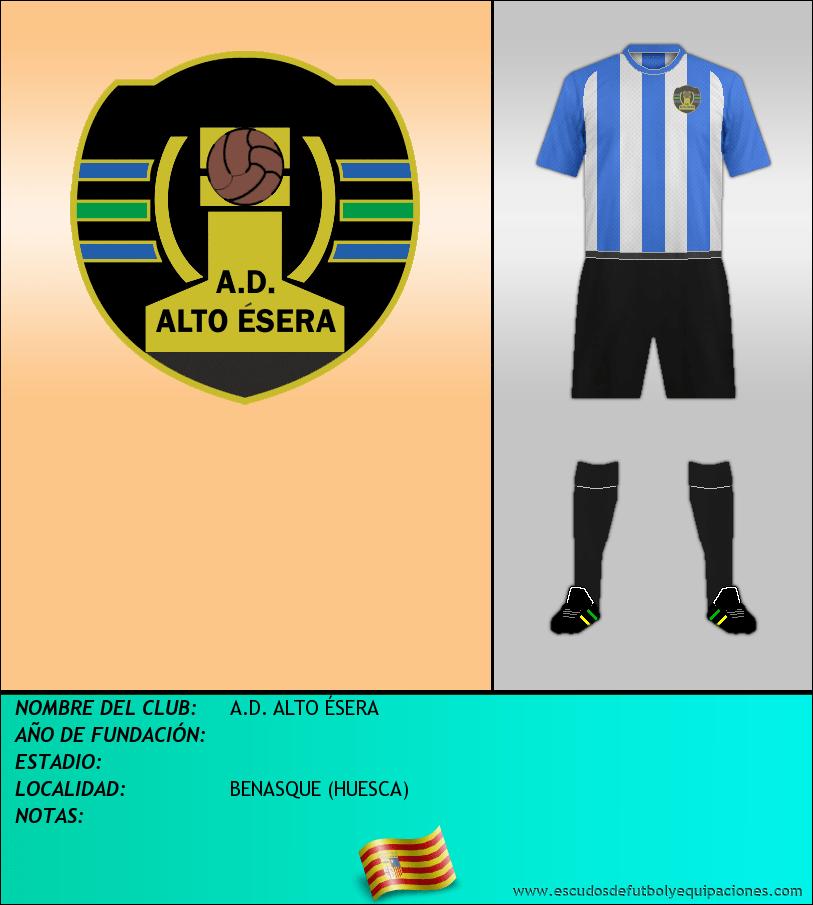Escudo de A.D. ALTO ÉSERA