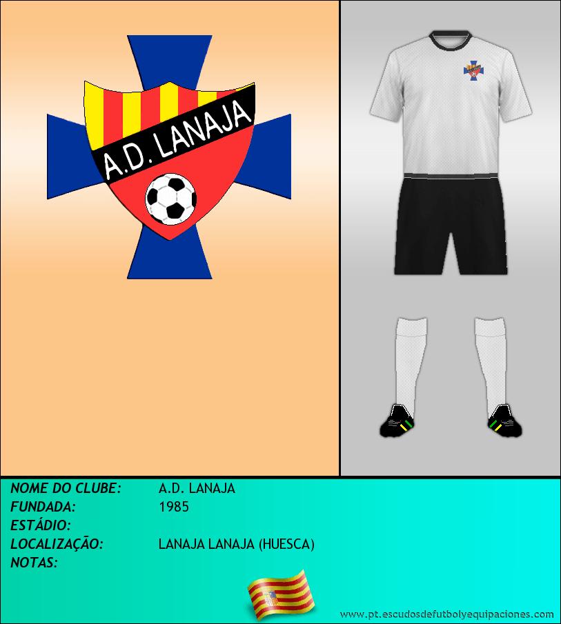Escudo de A.D. LANAJA