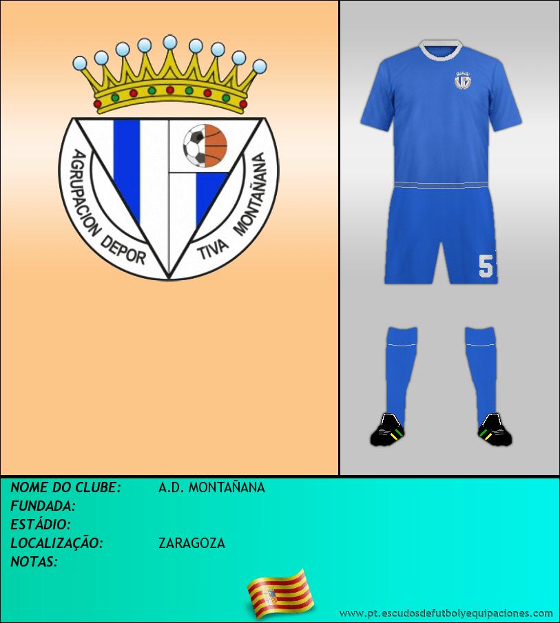 Escudo de A.D. MONTAÑANA