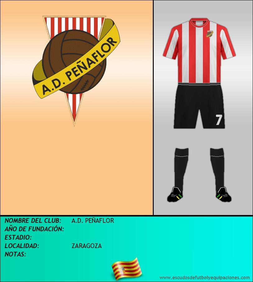 Escudo de A.D. PEÑAFLOR