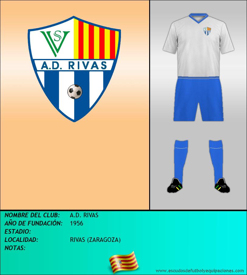 Escudo de A.D. RIVAS