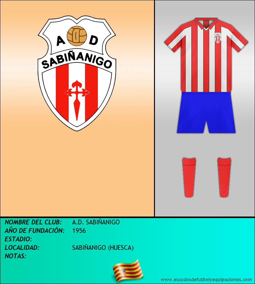 Escudo de A.D. SABIÑANIGO
