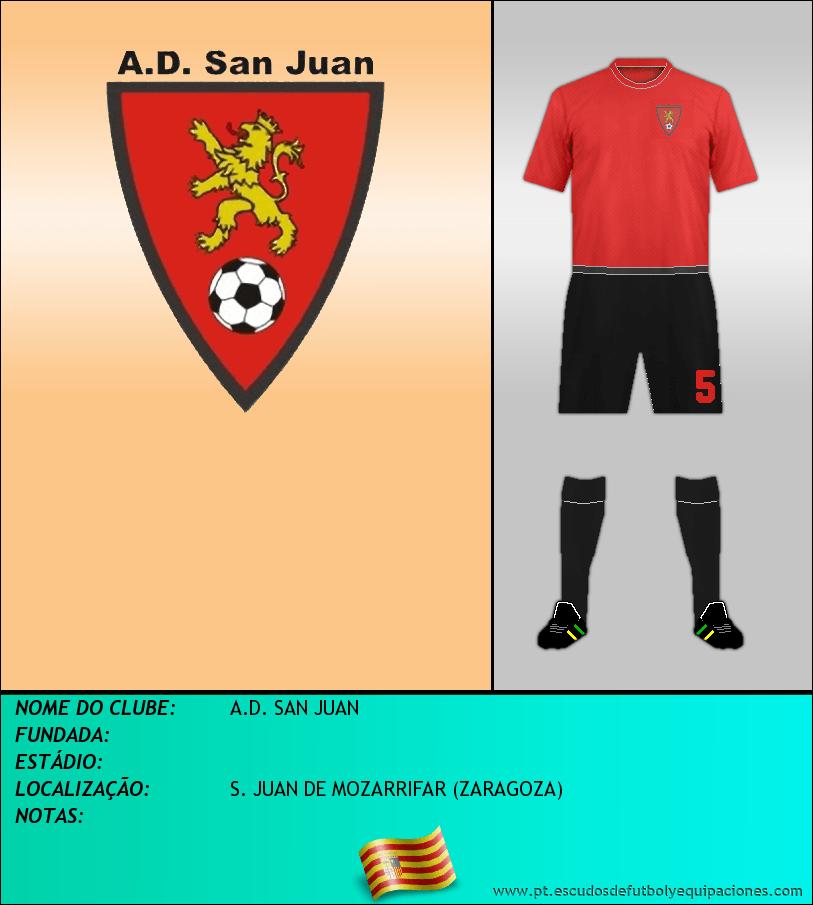 Escudo de A.D. SAN JUAN