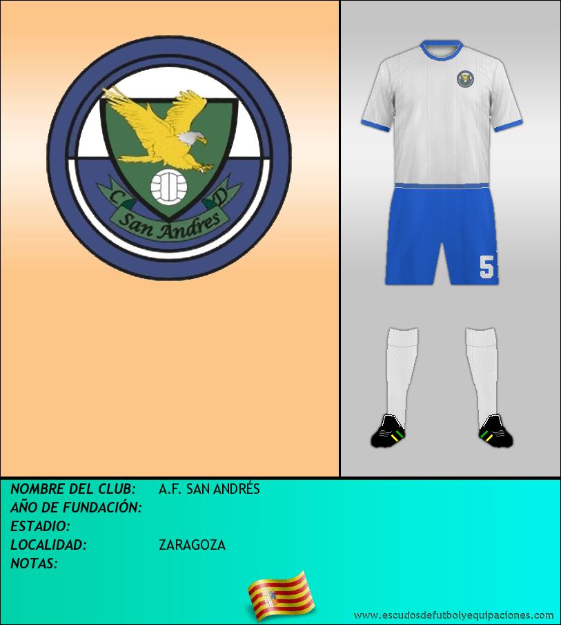 Escudo de A.F. SAN ANDRÉS
