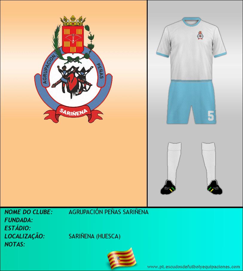 Escudo de AGRUPACIÓN PEÑAS SARIÑENA