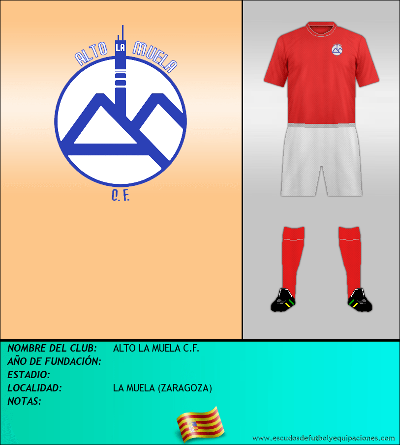 Escudo de ALTO LA MUELA C.F.