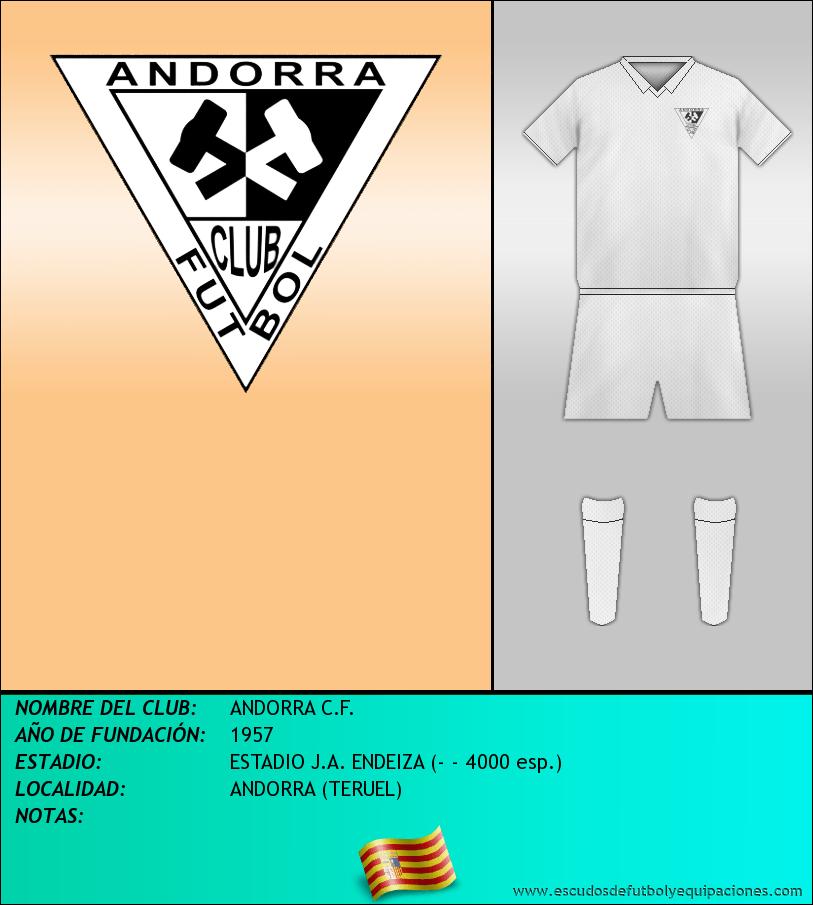 Escudo de ANDORRA C.F.