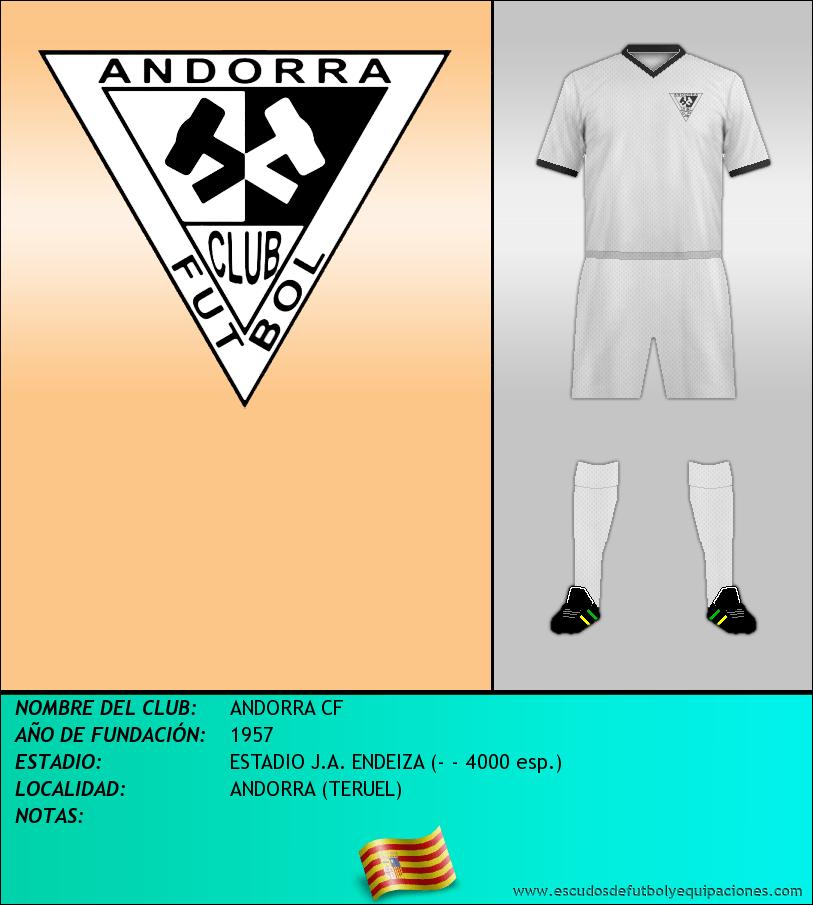 Escudo de ANDORRA CF