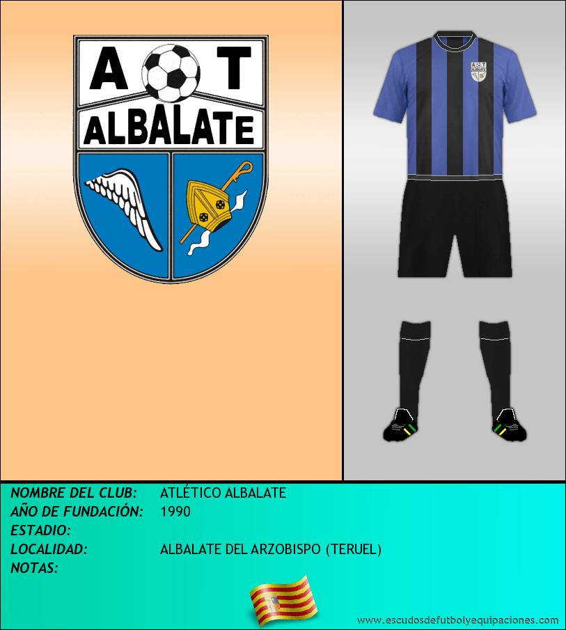 Escudo de ATLÉTICO ALBALATE