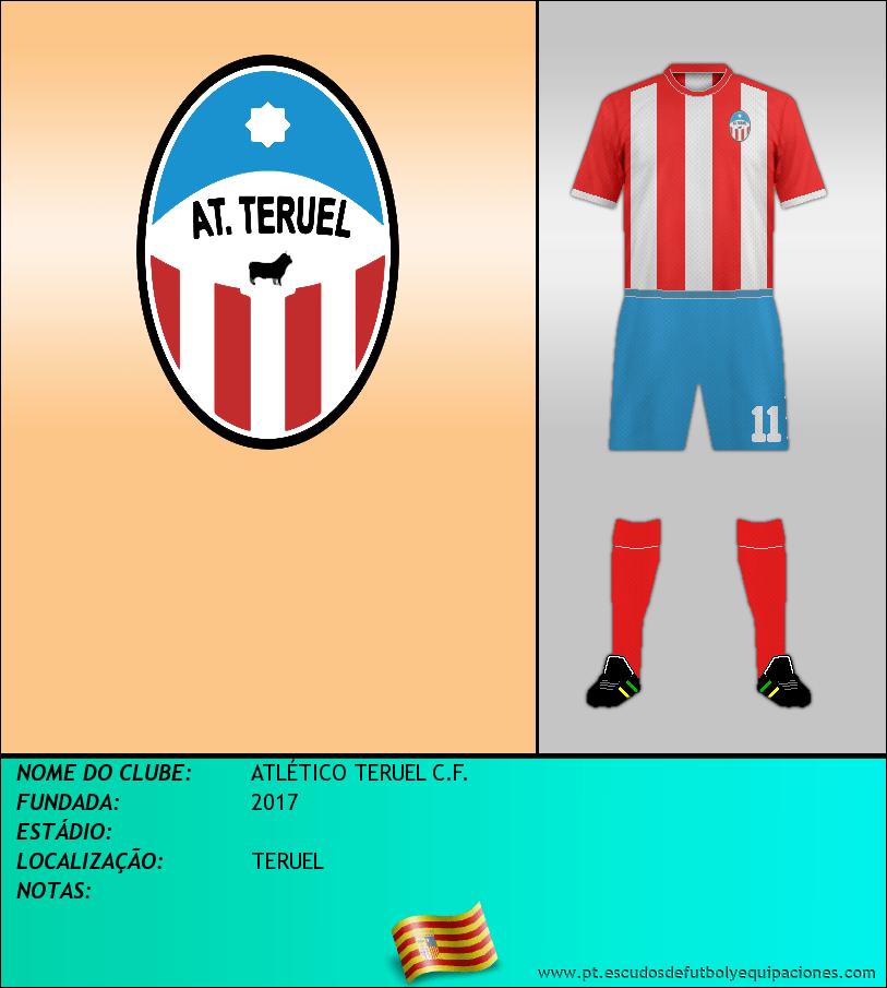 Escudo de ATLÉTICO TERUEL C.F.