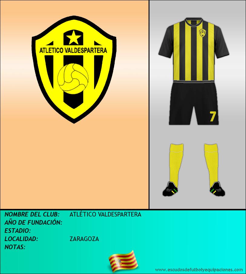 Escudo de ATLÉTICO VALDESPARTERA