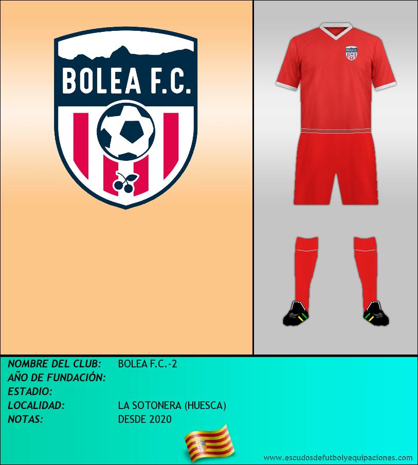 Escudo de BOLEA F.C.-2