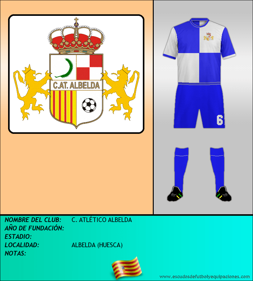 Escudo de C. ATLÉTICO ALBELDA