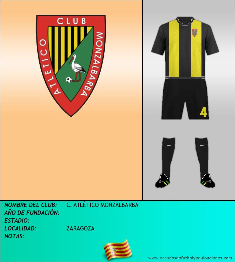 Escudo de C. ATLÉTICO MONZALBARBA