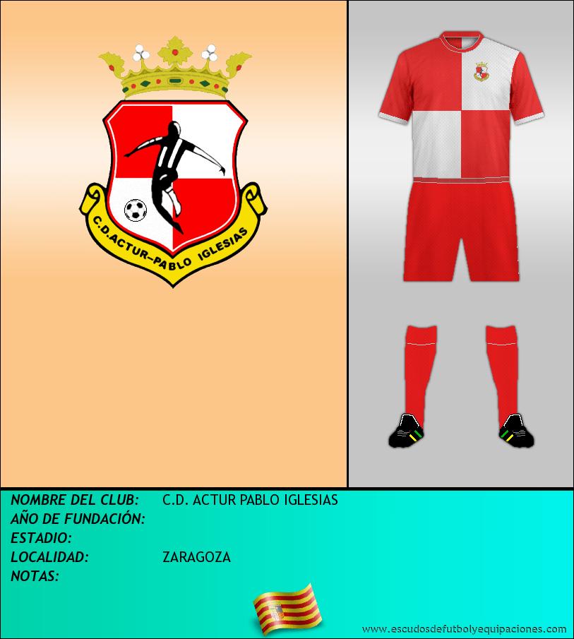 Escudo de C.D. ACTUR PABLO IGLESIAS
