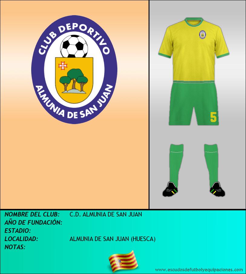 Escudo de C.D. ALMUNIA DE SAN JUAN