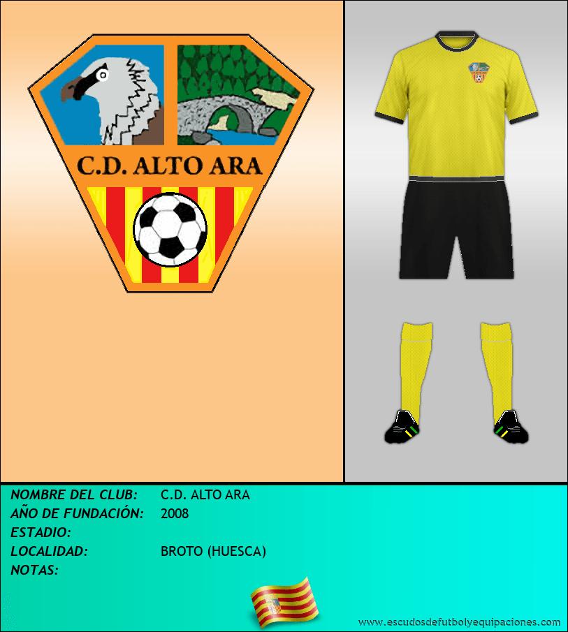 Escudo de C.D. ALTO ARA