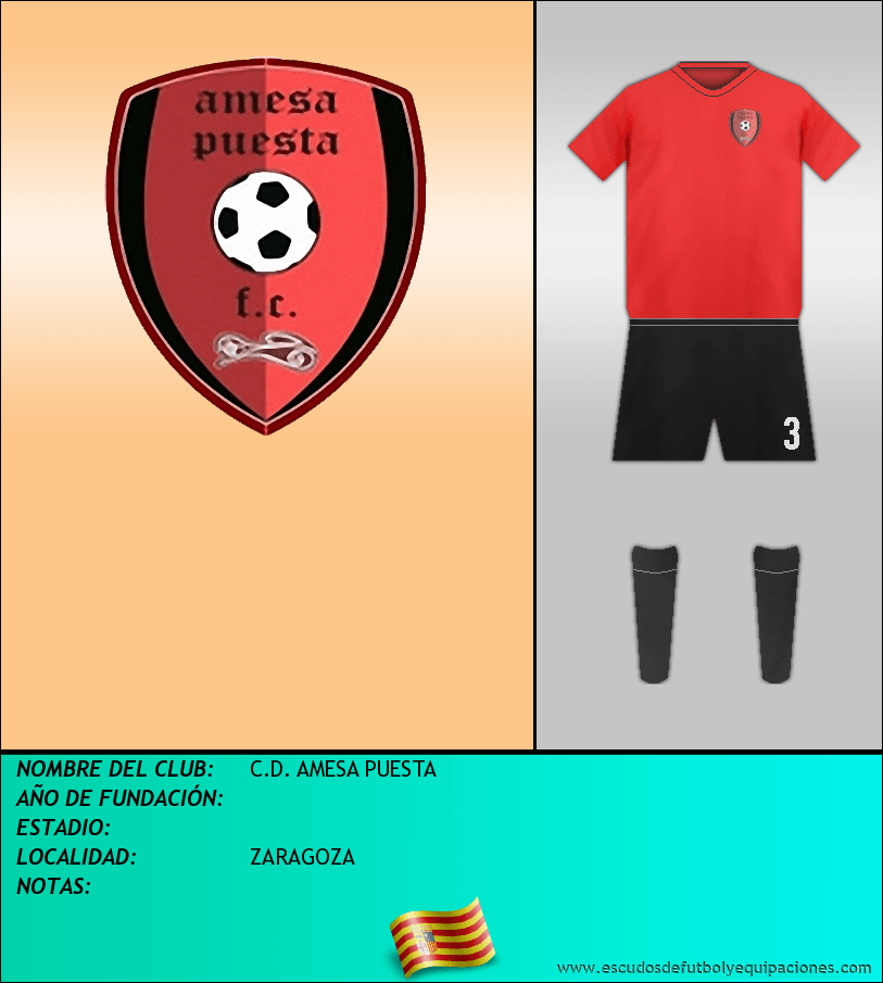 Escudo de C.D. AMESA PUESTA