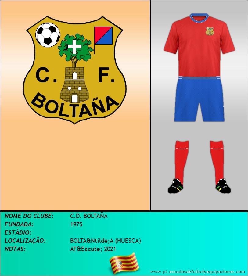 Escudo de C.D. BOLTAÑA