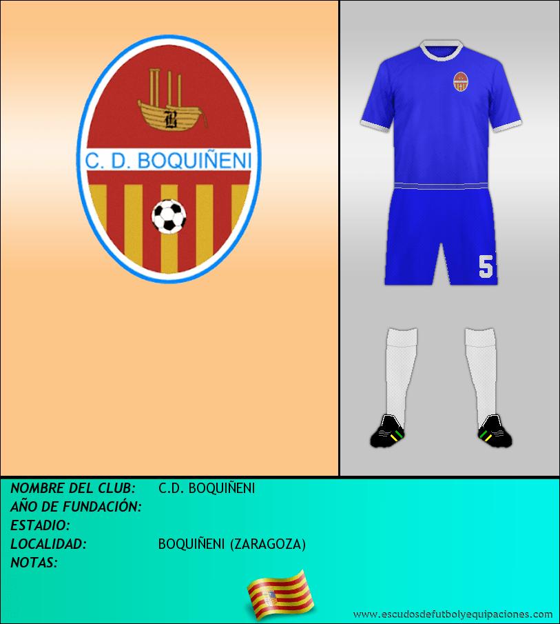 Escudo de C.D. BOQUIÑENI