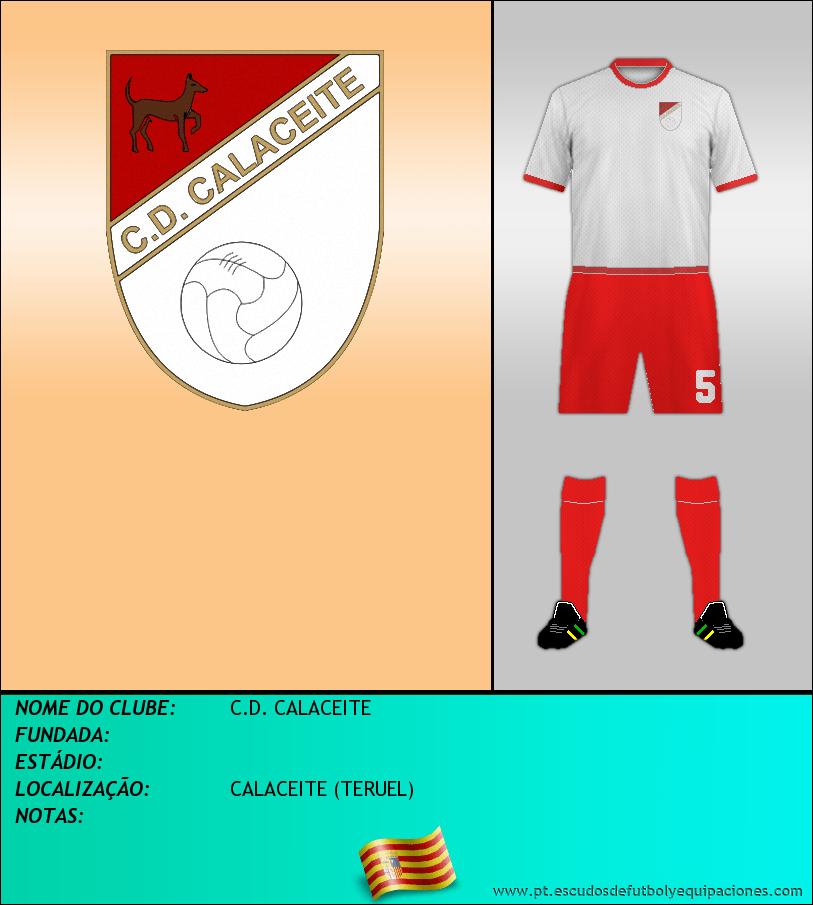 Escudo de C.D. CALACEITE