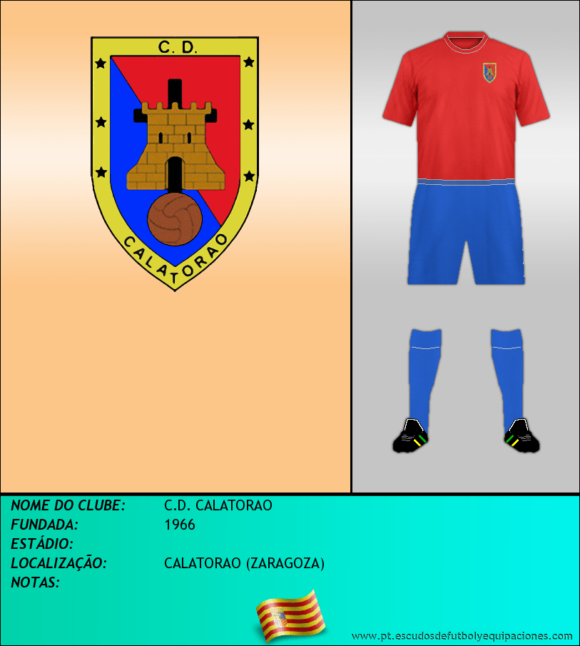 Escudo de C.D. CALATORAO