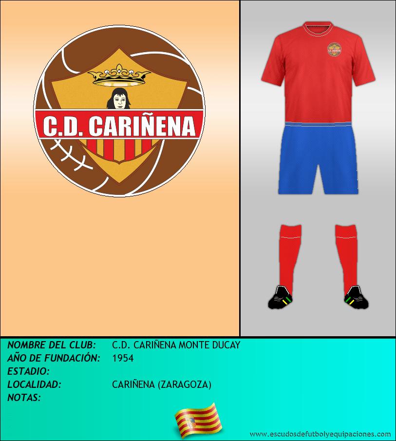 Escudo de C.D. CARIÑENA MONTE DUCAY