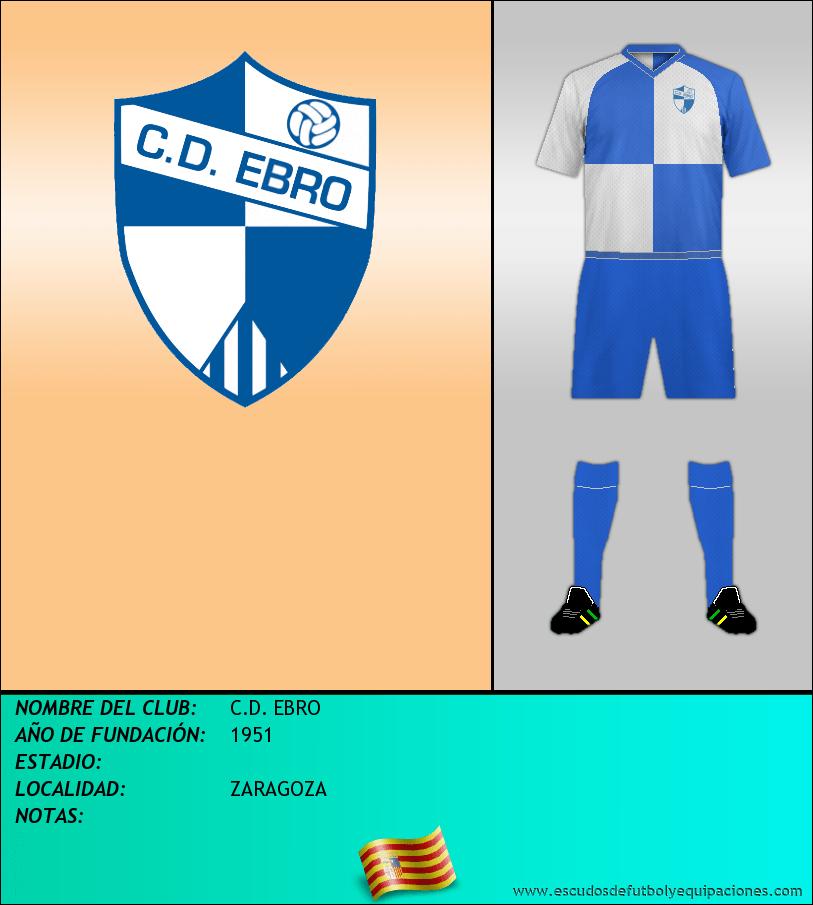 Escudo de C.D. EBRO
