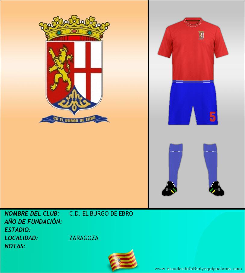 Escudo de C.D. EL BURGO DE EBRO