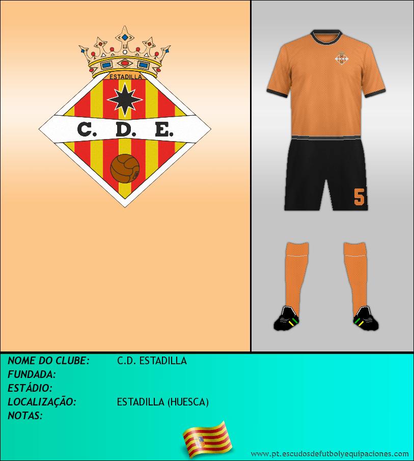 Escudo de C.D. ESTADILLA