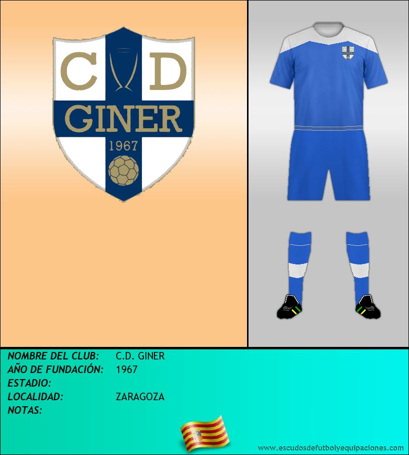 Escudo de C.D. GINER