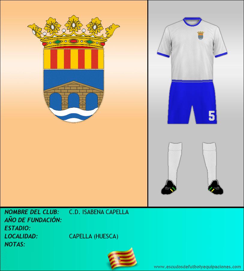 Escudo de C.D. ISABENA CAPELLA