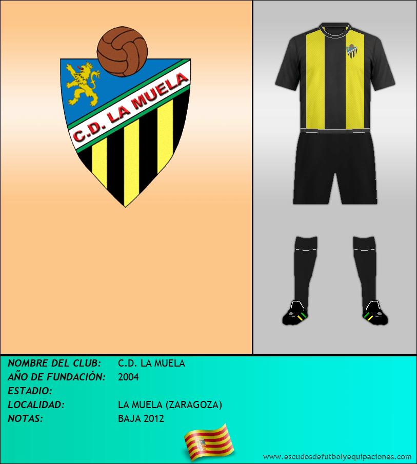 Escudo de C.D. LA MUELA