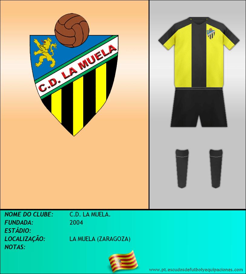 Escudo de C.D. LA MUELA.