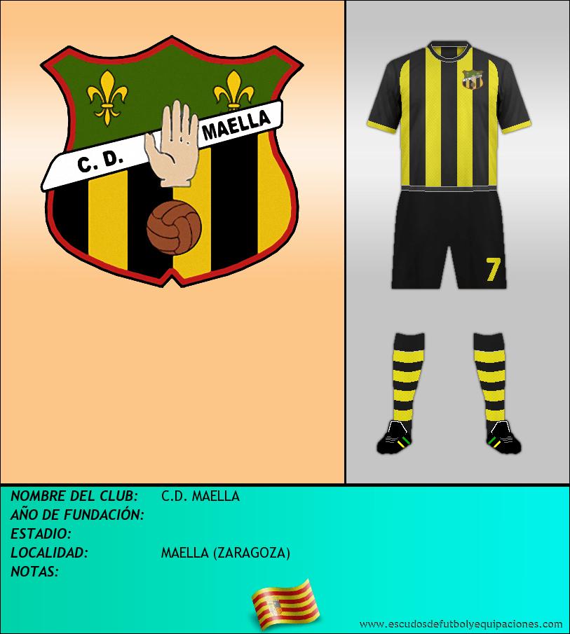 Escudo de C.D. MAELLA