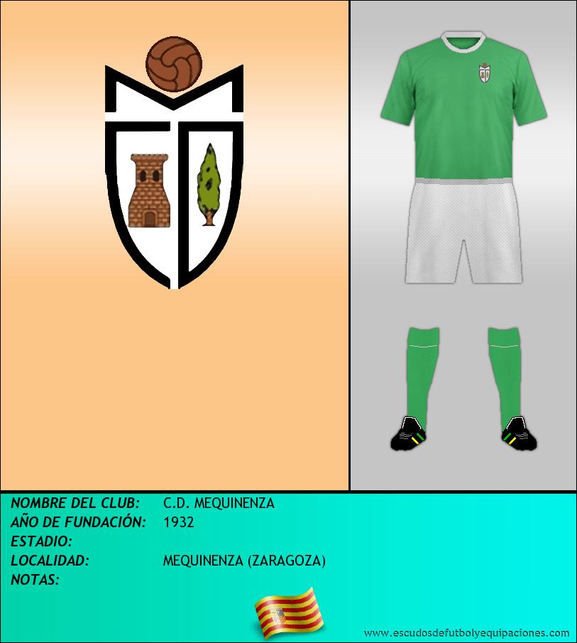 Escudo de C.D. MEQUINENZA