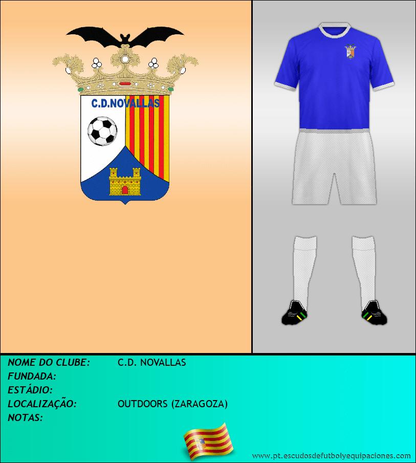 Escudo de C.D. NOVALLAS