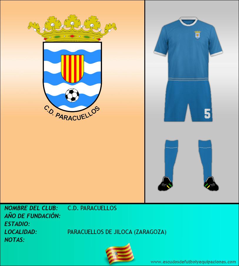 Escudo de C.D. PARACUELLOS